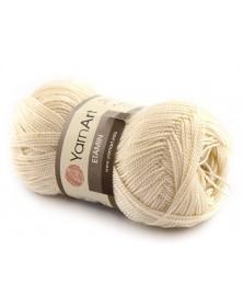 Włóczka Etamin Yarn Art kolor ecru 423