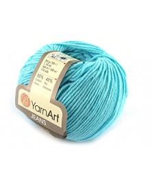 Włoczka Jeans Yarn Art kolor turkus 33