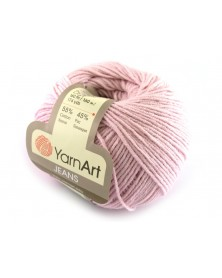 Włoczka Jeans Yarn Art kolor różowy 18