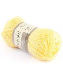 Włóczka Etamin Yarn Art kolor żółty 461