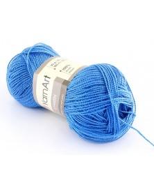 Włóczka Etamin Yarn Art kolor niebieski 462