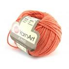 Włoczka Jeans Yarn Art kolor pomarańczowy 23