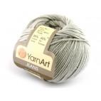 Włoczka Jeans Yarn Art kolor jasno szary 49