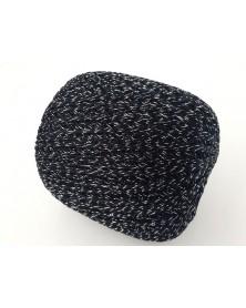 Kordonek Ambiance czarno srebrny