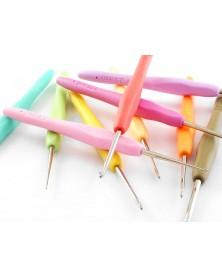 Zestaw szydełek z ergonomiczną rączką od 0,5-2,75 mm