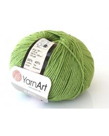 Włoczka Jeans Yarn Art kolor zielony 69
