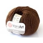 Włoczka Jeans Yarn Art kolor brązowy 70