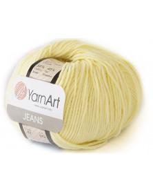 Włoczka Jeans Yarn Art kolor cytryna 67