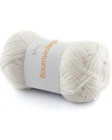 Włóczka Baumwollegarn kolor 51 biały