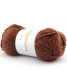 Włóczka Baumwollegarn kolor 59 brązowy