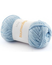 Włóczka Baumwollegarn kolor 67 błękitny