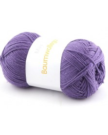 Włóczka Baumwollegarn kolor 83 fiolet