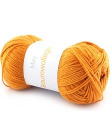 Włóczka Baumwollegarn kolor 87 pomarańczowy