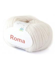 Włóczka Roma kolor 02 ecru