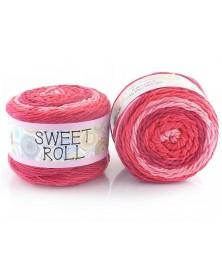 Włóczka Sweet Roll 03 odcienie czerwonego