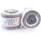 Włóczka Sweet Roll 11 odcienie szarości