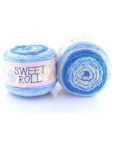 Włóczka Sweet Roll 20 odcienie niebieskiego