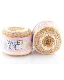 Włóczka Sweet Roll 22 odcienie beży
