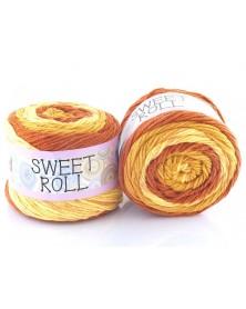Włóczka Sweet Roll 23 odcienie beży i rudości
