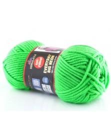 Włóczka Everyday BIG  NEON kolor neonowy zielony 07