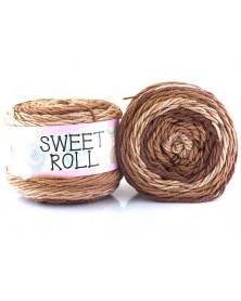 Włóczka Sweet Roll 06 odcienie brązów