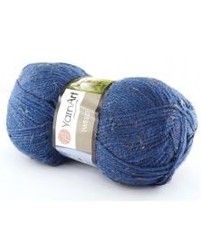 Włóczka Tweed niebieski 230