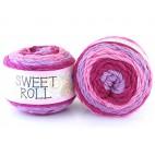 Włóczka Sweet Roll 05 odcienie fioletów i różu