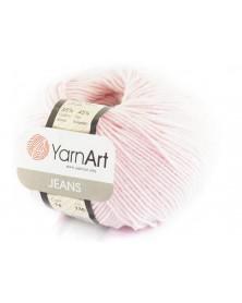 Włoczka Jeans Yarn Art kolor jasny róż 74