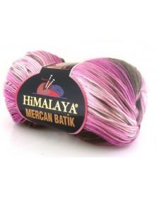Mercan Batik odcienie fioletów i brązu 14