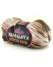 Mercan Batik odcienie brązów i beży 21