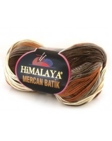 Mercan Batik odcienie brązów, beży i rudości 11