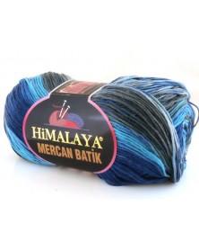 Mercan Batik odcienie granatu i niebieskiego 17