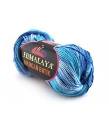 Mercan Batik odcienie niebieskiego 13