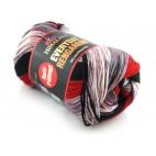 Włóczka Everyday Rengarenk kolor 19 odcienie czerwieni szarości czarnego