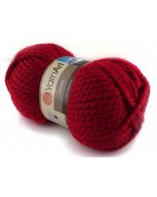 Włóczka Alpine Yarn Art kolor ciemna czerwień 340