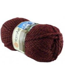 Włóczka Alpine Yarn Art kolor brąz 341
