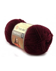 Pure Merino Yarn Art kolor bordo 2066