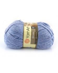 Włóczka Shetland kolor niebieski melanż 515
