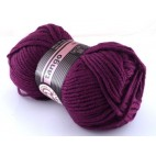 Włóczka Tango kolor ciemny fiolet 052