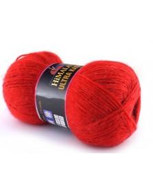 Włóczka Ultra Kasmir Himalaya kolor 09 czerwony