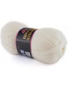 Włóczka Ultra Kasmir Himalaya kolor 27 złamana biel