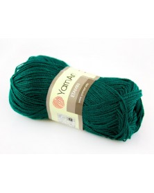 Włóczka Etamin Yarn Art kolor butelkowa zieleń 423