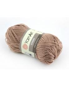 Włóczka Etamin Yarn Art kolor ciemny beż 447