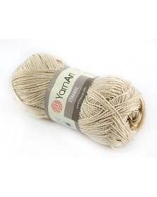 Włóczka Etamin Yarn Art kolor jasny beż 448