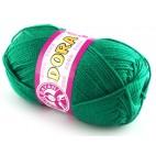 Włóczka Dora Kolor  zielony butelkowy  070