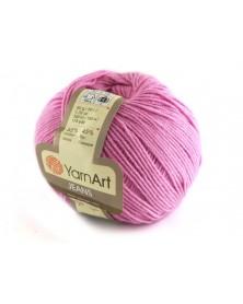 Włoczka Jeans Yarn Art kolor różowy 20