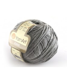 Włoczka Jeans Yarn Art kolor szary 46