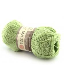 Włóczka Etamin Yarn Art kolor jasny zielony 452
