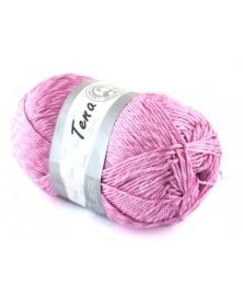 Włóczka Tena kolor różowy 393