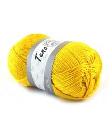 Włóczka Tena kolor żółty 433